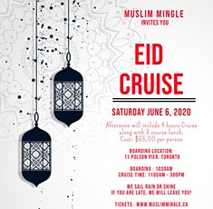 EID CRUISE : SATURDAY JUNE 6, 2020 tickets