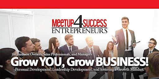 NETWORK & LEARN   FENTON LOCATION   Grow You, Grow Business!