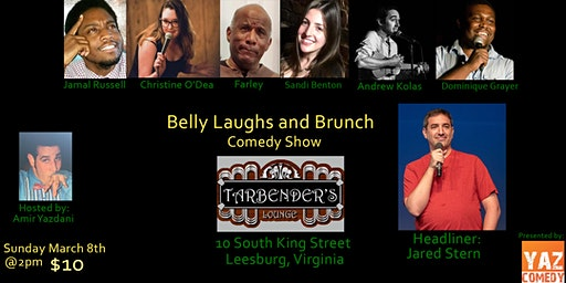 Belly Laughs and Brunch at Tarbender's Lounge