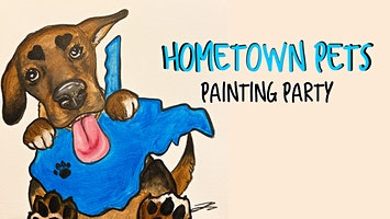 Hometown Pets Painting Party