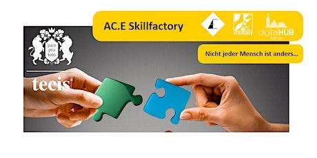 Skillfactory Workshop - ist jeder Mensch anders? Persönlichkeitsanalyse. tickets
