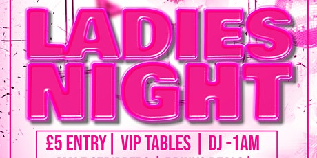 Copy of LADIES NIGHT billets