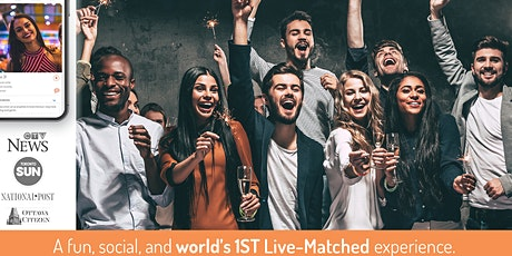 World's 1st Live-Matched Singles Adventure Games | Toronto | Secret RSVP tickets