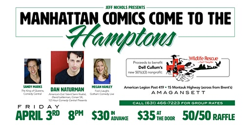 Manhattan Comics Come to the Hamptons 4 Dell Cullum's Wildlife Rescue of EH