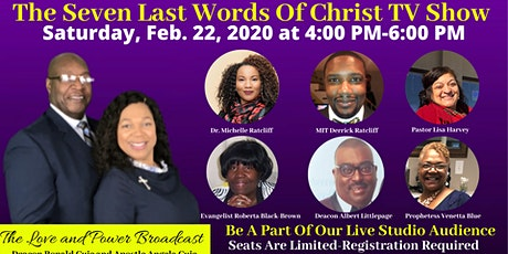 The Seven Last Words of Christ Telecast tickets