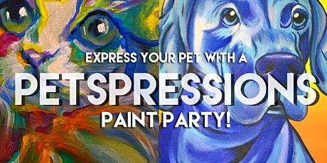 Petspressions Paint Party! tickets