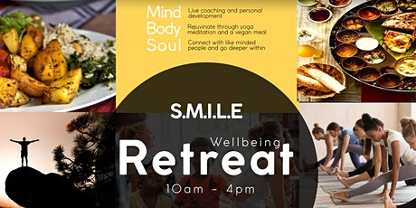 S.M.I.L.E Wellbeing Retreat @ Bhaktivedanta Manor tickets
