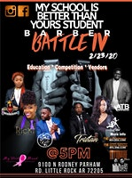 The 4th Annual My School Is Better Than Yours Student Barber Battle
