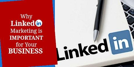 Free Linkedin Marketing Masterclass tickets