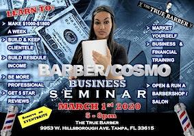BARBER/COSMO Business Seminar