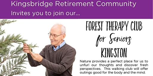 Forest Therapy Club for Seniors