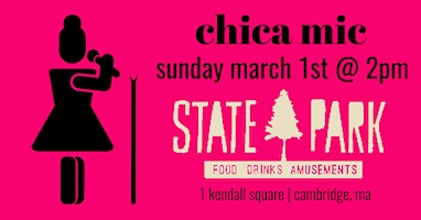 chica comedy open mic - march