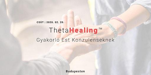 ThetaHealing™ Ásás -Gyakorló Est
