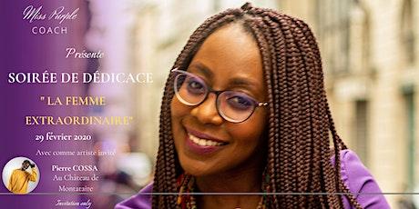 """Soirée De Lancement et de Dédicace """"LA FEMME EXTRA tickets"""
