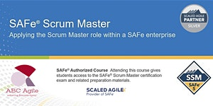 Certified SAFe® Scrum Master 5.0 Detroit by Jerome...