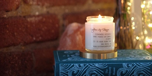 Soy Candle Workshop - 2 8oz soy candles