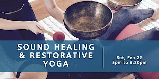 Sound Healing & Restorative Yoga w/ Lorena Saavedra Smith, 500hr E-RYT, YACEP, MRT