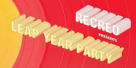 Recreo Presents: Leap Year Party   Supernova Ballroom tickets