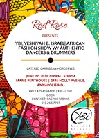 RED ROSE PRESENTS: YBI | African  Fashion Show