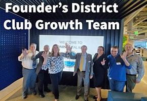 Founders District Toastmasters Club Growth Workshop