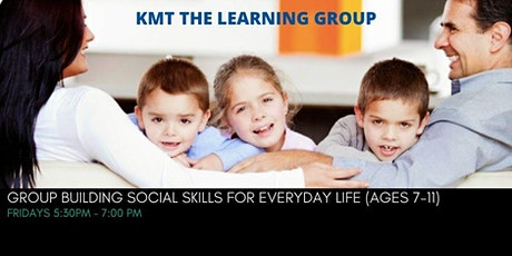 Building Social Skills for Everyday Life (Ages 7 to 11 years) tickets