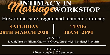 Intimacy in Marriage tickets