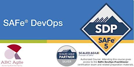 SAFe DevOps 5.0 with Practitioner Certification (SDP) Detroit by JeromeDavis tickets
