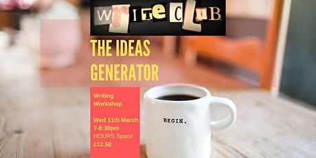 WriteClub: The Ideas Generator tickets