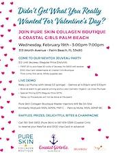 Join Pure Skin Collagen Boutique & Coastal Girls Palm Beach tickets