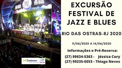 Reserva - Festival de Jazz & Blues de Rio das Ostras 2020 ingressos