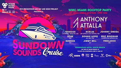 Sundown Sounds WMC Miami Rooftop party tickets