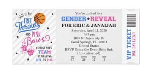 Eric & Janaijahs Gender Reveal