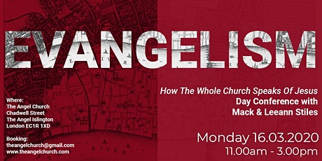 Evangelism: How The Whole Church Speaks Of Jesus tickets