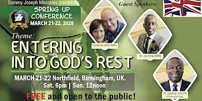 SpringUp Conference, Birmingham, ENGLAND | March 21-22, 2020.
