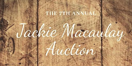 The Jackie Macaulay Auction
