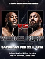 Wilder vs Fury II Fight Viewing Party