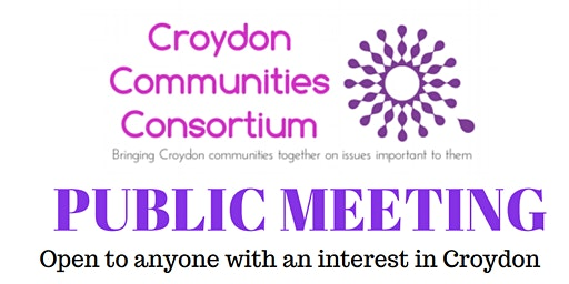 Community Meeting in Croydon - 4 Mar 2020 - open to all