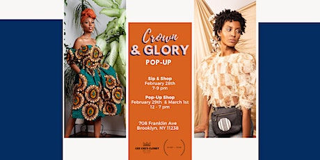 Crown & Glory Pop Up tickets