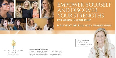 Discover  Your Strengths for Women in Leadership tickets