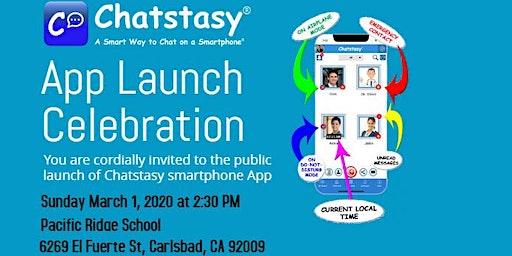 Chatstasy App Launch Celebrations