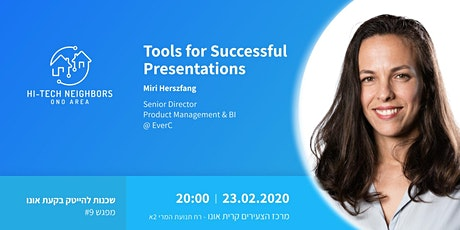 Tools for Successful Presentations tickets