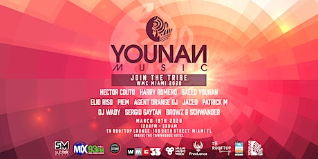 Younan Music / Join the Tribe Miami Music Week 2020 tickets