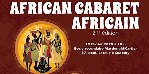 21st African Cabaret - Cabaret Africain de 21st