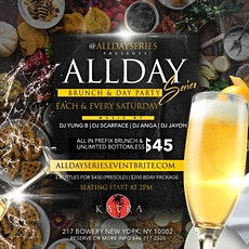 All Day Brunch | 90 mins Unlimited Mimosa's & $45 Brunch tickets