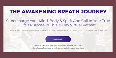 Supercharge Your Mind, Body & Spirit Online Program (see login link) tickets