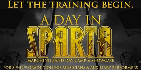 A Day In Sparta - Marching Band Day Camp 2020 tickets