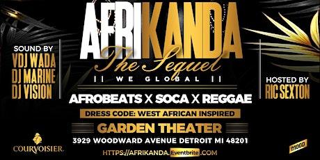 Afrikanda The Sequel tickets