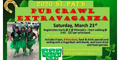 2020 St Pat's Pub Crawl Extravaganza