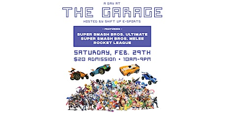 A Day at THE GARAGE tickets