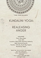 RaqC Presents: Kundalini Yoga -Releasing Anger
